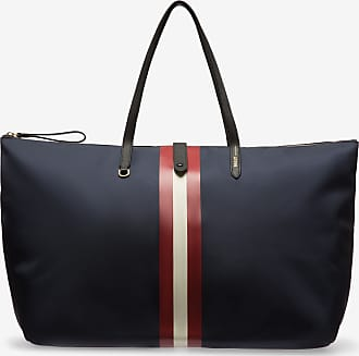Bally Foldable Tote Blue 1