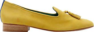 Blue Bird Loafer Boyish Daisy de Camurça Amarelo - Mulher - 35 BR