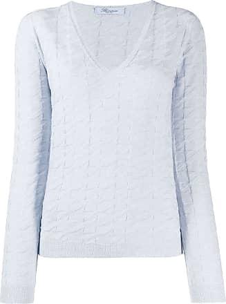 Blumarine Suéter texturizado - Azul