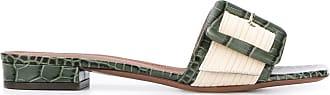 L'autre Chose Slide verde com salto 25mm