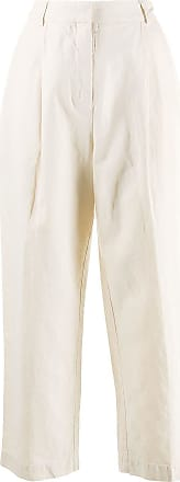 Ymc You Must Create plain cropped trousers - Neutrals