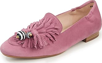 Peter Kaiser Kidskin suede ballerina pumps Peter Kaiser Plus pale pink