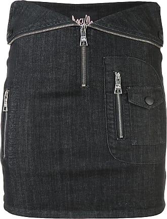 Haculla Nobodys safe fitted skirt - Black