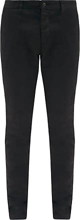 Ami Ami - Slim-leg Cotton-twill Trousers - Mens - Black