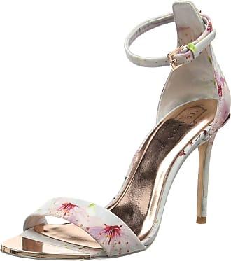 fb5eadfb82c0d Ted Baker Ted Baker Womens Charv Sling Back Sandals Multicolour (Oriental  Blossom) 3 UK