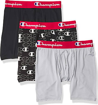 Boxer Briefs Pack of 3 Champion Mens Athletics Everyday Active Lightweight /& Breathable Boxer Brief