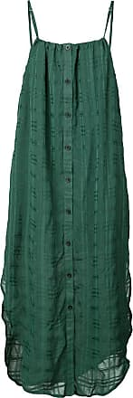 Onia Flora checked dress - Green