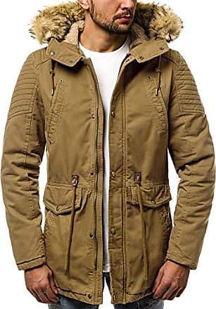 OZONEE Herren Winterjacke Parka Jacke Kapuzenjacke Wärmejacke Wintermantel  Coat Wärmemantel Warm Modern Camouflage Täglichen JS  e97bbf5d99