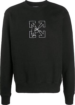 Off-white Camiseta negra con logo Workers