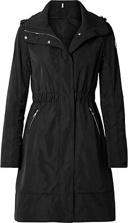 Moncler Hooded Gabardine Jacket - Black