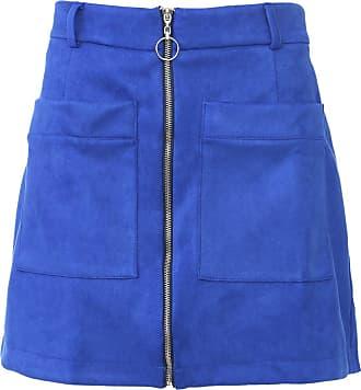 Dimy Saia dimy Curta Suede Azul