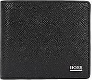 BOSS Signature Collection wallet in palmellato leather with coin pocket