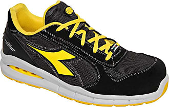 Diadora Run Net Airbox Low S1P SRC Unisex Safety Shoes Black Size: 3 UK