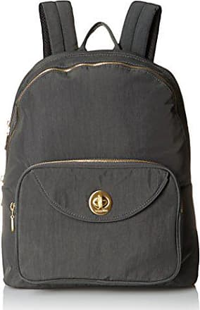 Baggallini Brussels Laptop Chrcl Backpack, Charcoal, One Size