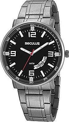Seculus Relógio Seculus Masculino Ref: 20629g0svnt1 Slim Titânio