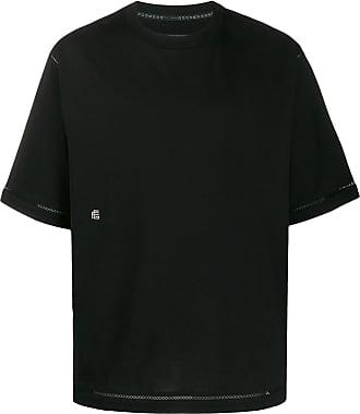 Fumito Ganryu Camiseta oversized decote careca - Preto