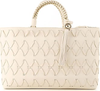 Versace Tote Bag On Sale, White, Nappa Leather, 2017, one size