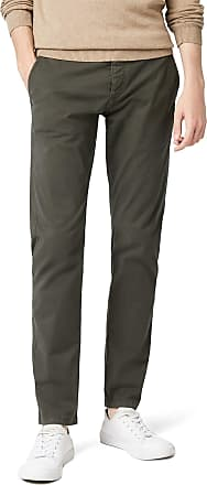 Selected Homme Mens Luca Slim Fit Chino Trousers, Grey (Phantom), W38/ L34 (Manufacturer size: 38)