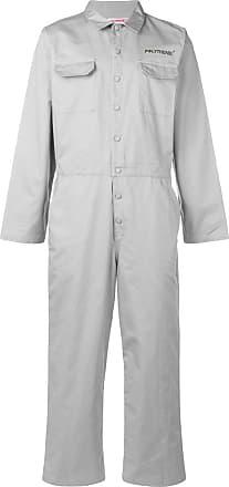 b6a6aa75374b7 Polythene  Optics structured jumpsuit - Grey