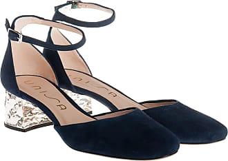 Unisa scarpa tacco largo, 36 / blu