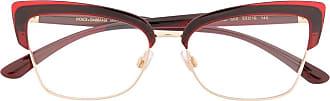 Dolce & Gabbana Eyewear Armação de óculos quadrada DG5045 550 - Vermelho