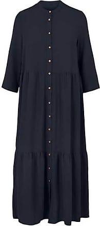 Y.A.S Jacobina 3/4 Midi Kleid Dark Sapphire - XL