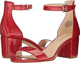 84b0ce24bae9 Nine West Womens Fields Patent Dress Sandal Red