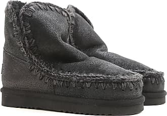 Mou Boots for Women, Booties On Sale, Black, Leather, 2017, EUR 36 - UK 3 - USA 5.5