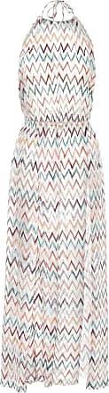 Missoni Zigzag halter-neck dress