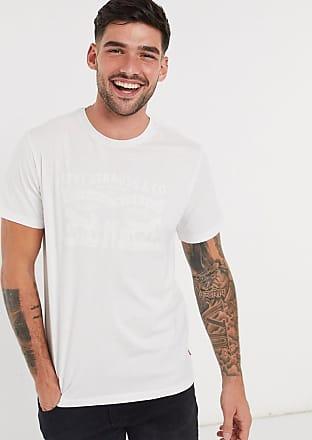 Levi's 2 Horses - Vit t-shirt med vit logga
