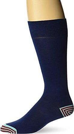 Ozone Mens Pima Cotton Basic Sock, Navy, 10-13