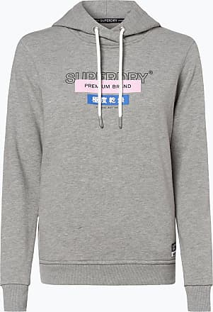 hot sale online 26e65 a7399 Superdry Kapuzenpullover in Grau: 68 Produkte | Stylight