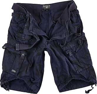 Geographical Norway Mens People Cargo Shorts - Blue - XXL