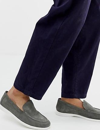 Kurt Geiger KG by Kurt Geiger slip on shoe in grey suede