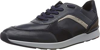 Lloyd Mens Bari Low-Top Sneakers, Blue (Blue/Midnight/Ocean/Grey/Ebano 3), 9.5 UK