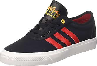 cheap for discount fdee6 35e30 adidas Mens Adi-Ease Skateboarding Shoes, Black CblackScarleFtwwht, 7