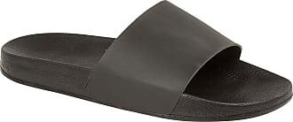 Urban Jacks Ladies Women Summer Sports Beach Slider Slippers Flip Flops Sandals Thongs Size (UK 6/EU 39/US 8, Black)