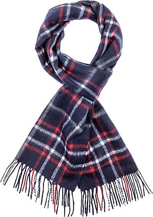 Luxus Schal aus Baumwolle in einem elegant prächtigem blau Baumwollschal