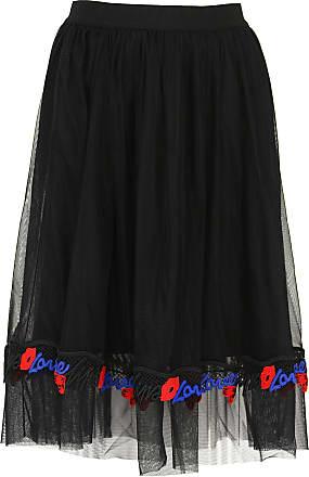211cfc85d1 Pinko Skirt for Women On Sale, Black, polyamide, 2017, 26 28 30