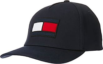 f87fc0d3 Tommy Hilfiger Mens Big Flag Embroidered Logo Cap with Adjustable Buckle  Strap, Navy, One