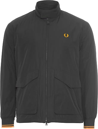 Fred Perry JAQUETA MASCULINA QUILTED HARRINGTON - PRETO