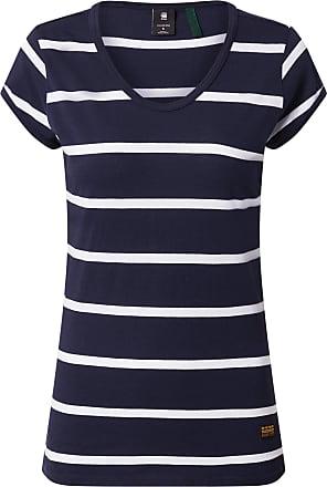 G-Star Shirt Core Eyben weiß / nachtblau