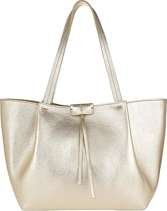 Patrizia Pepe Shopping Bag Platinum Shopper gold