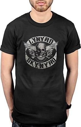 AWDIP Official Lynyrd Skynyrd Biker Patch T-Shirt Black