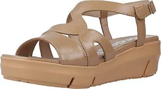 Wonders Women Sandals and Slippers Women D8231 Light Brown 3.5 UK