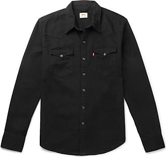 Levi's Barstow Denim Western Shirt - Black