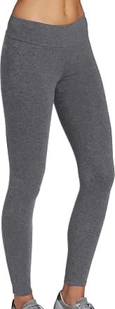 iLoveSIA Womens Yoga Pants High Waist Tummy Control Workout Running Leggings XL Grey