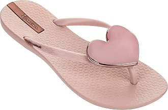 Ipanema Women/'s Maxi Heart Plastic Flip Flop Black