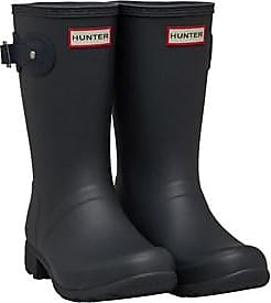 Hunter Original short matt wellington boots