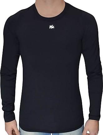 Kanxa Camisa Termica Segunda Pele Alta Compressão Kanxa Original (Preto, GG)